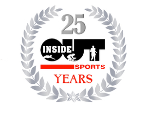 Inside-Out Sports 25th Anniversary logo